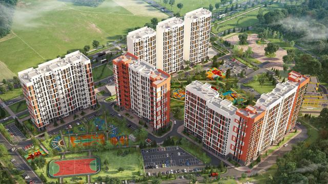 UP! Квартал Олимп, строительство в Обнинске