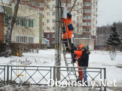 В Обнинске устанавливают новые дорожные знаки