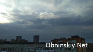 Небо Обнинска 10.04.2018
