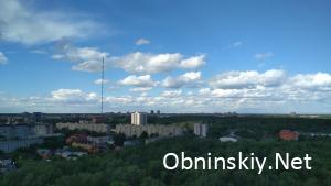Небо Обнинска 05.06.2018