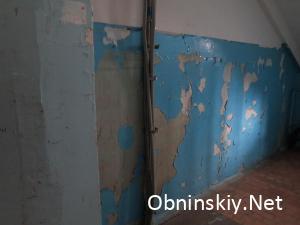 Курчатова 45, состояние стен ужасно