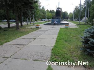 дорога к памятнику