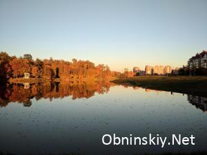 Золотая осень в Обнинске