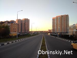 Дорога в новый район