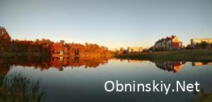 Белкинский пруд. панорама.