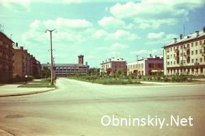 автовокзал юбилейная стройка ретро фото Обнинск СССР