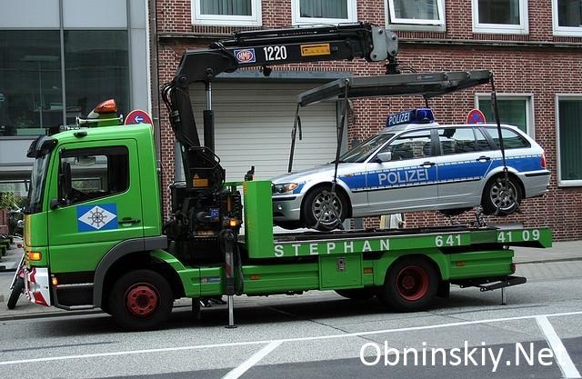 Изменен порядок эвакуации транспортных средств