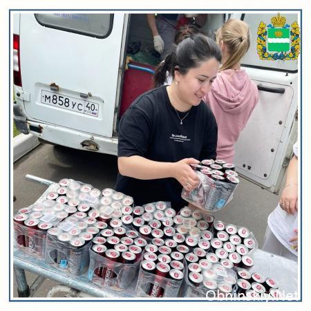 Coca-Cola помагает сотрудникам больниц в период активной борьбы с пандемией COVID-19