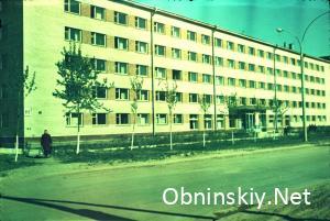 Курчатова 20. Общежитие МИФИ. 1971г.