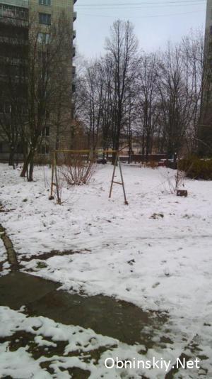 Детский двор в Обнинске