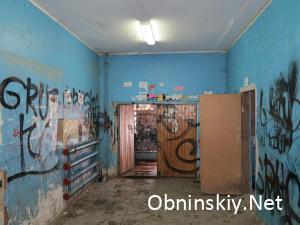 Энгельса 23, холл... вот так работают управляющие компании Обнинска