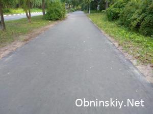 Отремонтированная пешеходная дорога 2019г