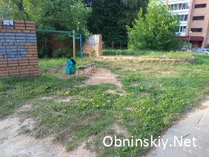 заброшенная песочница Обнинск