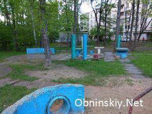 Обнинск, Детская площадка во дворе дома 7 по ул. Аксёнова