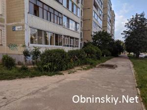 Таблика дома 54 по ул. Курчатова