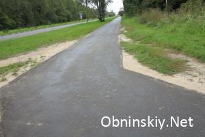 Кабицинская дорога 2016 год, после ремонта