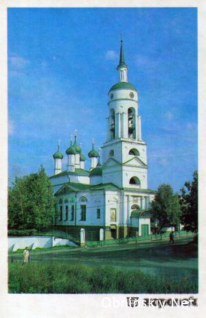 Благовещенский собор. Боровск 1990г.