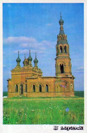 Церковь Михаила Архангела с. Красное