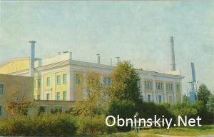 Первая в мире атомная электростанция