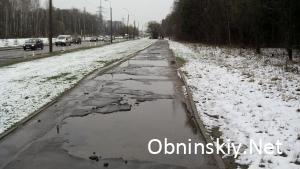Пешеходная дорога по ул. Кабицынская