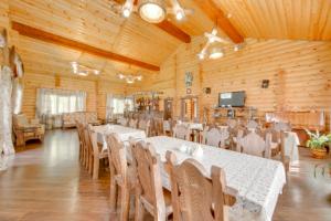 Ресторан, Белая цапля, загородный клуб