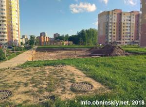 Благоустройство детских площадок 38 мкр, 15.05.2018