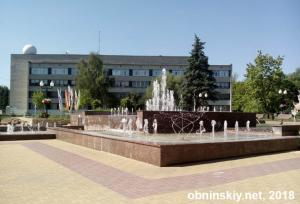 Фонтан в Обнинске