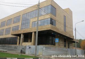 Здание сервисного центра, сентябрь 2016