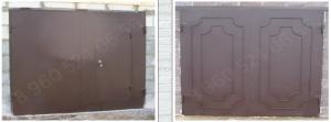 Гаражные ворота, Стальспецпроект, производство и монтаж металлоконструкций