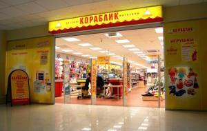 Кораблик, сеть магазинов детских товаров