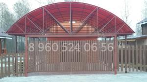 Навесы, Стальспецпроект, производство и монтаж металлоконструкций