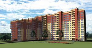 Жилой комплекс Новый город, Многоэтажные кирпичные дома