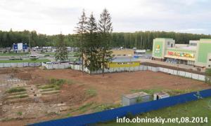 стройка на 38 микрорайоне Обнинска