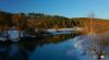 Полёт над рекой Протвой, аросъёмка 4K